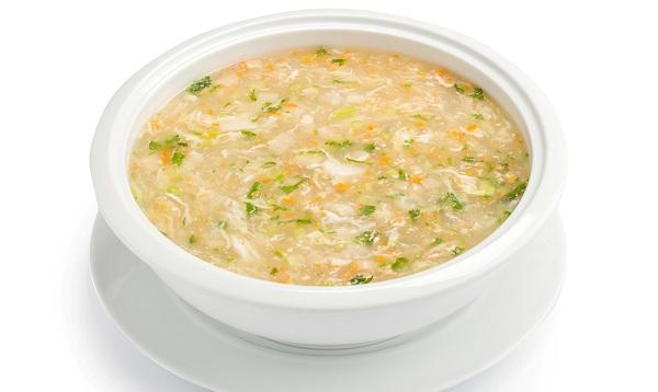 súp ghẹ